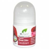 Dr. Organic rulldeodorant roosiõliga