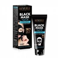 Revuele Black Mask With Hyaluron must mask hüaluroonhappega