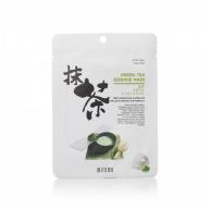 Mitomo Green Tea Essence Mask rohelise tee essentsi näomask