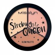 Misslyn Strobing Queen Glow Palette särapuuder 49931