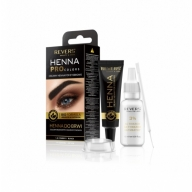 Revers Henna Pro Colors kulmu- ja ripsmevärv hennaga 1 must