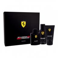 Ferrari Scuderia Black SEt Eau de Toilette 125ml+Shower Gel+Deodorant
