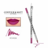 "Revers Contour&Matt huulepliiats 01 ""rose"""