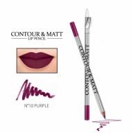 "Revers Contour&Matt huulepliiats 10 ""purple"""