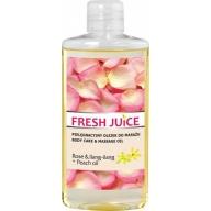 Fresh Juice massaažiõli roos-ylang-ylang 3969