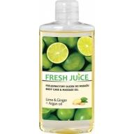 Fresh Juice massaažiõli laim-ingver 3945