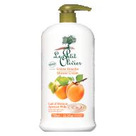 Le Petit Olivier kreemjas dušigeel aprikoosipiim