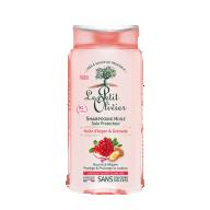 Le Petit Olivier šampoon värvitud/salgutatud juustele granaatõuna ekstrakti  ja argaaniaõliga