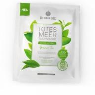Dermasel kangasmask näole rohelise tee ekstraktiga