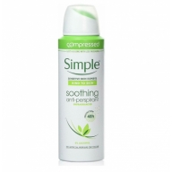 Simple Soothing aerosooldeodorant lõhnatu