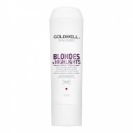 GOLDWELL Dualsenses Blondes&Higlights Anti-Yellow Conditioner kollasust vähendav palsam