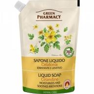 Green Pharmacy niisutav vedelseep vereurmarohuga täitepakend