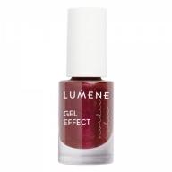 Lumene Gel Effect küünelakk 73 Berry Sparkle 5ml