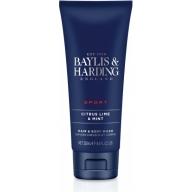Baylis & Harding dušigeel-šampoon meestele laim-münt 165