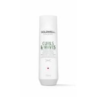 Goldwell Dualsenses Curls&Waves niisutav ja eraldav šampoon lokkis juustele