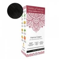 Tints Of Nature Henna Cream Black Looduslike henna- ja taimeekstraktidega kergvärv, must