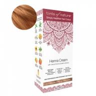Tints Of Nature Henna Cream Golden Blonde Looduslike henna- ja taimeekstraktidega kergvärv, kuldblond