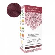 Tints Of Nature Henna Cream Burgundy Looduslike henna- ja taimeekstraktidega kergvärv, veinipunane