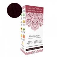 Tints Of Nature Henna Cream Mahogany Red Looduslike henna- ja taimeekstraktidega kergvärv, mahagon