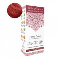 Tints Of Nature Henna Cream Red Looduslike henna- ja taimeekstraktidega kergvärv, punane