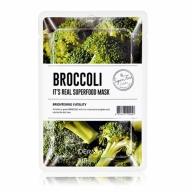Dermal It's Real Superfood kirgastav ja toonust lisav brokolimask