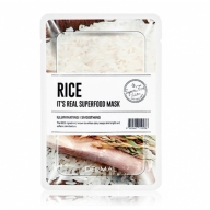 Dermal It's Real Superfood kirgastav ja nahka siluv riisimask