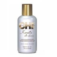 Chi Keratin Silk Infusion seerum kahjustatud juustele 59 ml