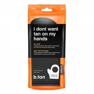 "Btan Kinnas ""I don't want tan on my hands"""