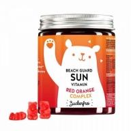 Bears With Benefits Beach Guard Sun Vitamins Red Orange, suhkruvaba 60tk