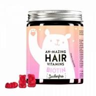 Bears With Benefits Ah-mazing Hair Vitamins Biotiiniga, suhkruvaba 60tk