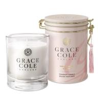 Grace Cole Lõhnaküünal vanilje ja pojeng 200g