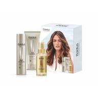 Kadus Fiber infusion šampoon + juuksemask + juukseõli