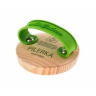 MiaCalnea Pilerka Velvet Green jalaviil-õrnemaks hoolduseks ja mustuse eemalmiseks 240 gritti