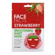 Face Facts Jumet parandav kangasmask näole maasikas