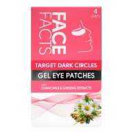 Face Facts Geelmask tumedatele silmaalustele 8tk