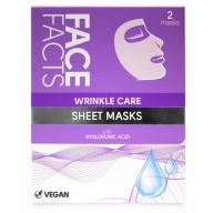 Face Facts Kortsudevastane taastav kangasmask näole 2tk