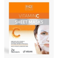 Face Facts Jumet parandav näomask C vitamiiniga 2tk