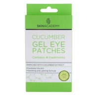 Skin Academy Geelmask silmadele kurgiekstraktiga 4x2tk