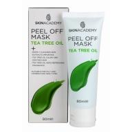 Skin Academy Sügavpuhastav ja rahustav mahakooritav mask teepuuõliga 80ml