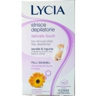 Lycia Delicate Touch depilatsiooniplaastrid kaenlaalustele ja bikiinipiirkonnale 20tk