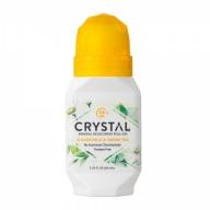 Crystal rulldeodorant Kummel & Roheline tee 66ml