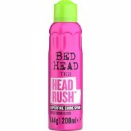 Tigi Headrush Shine Spray for Extreme Gloss Kerge hoiakuga läiget andev juuksesprei