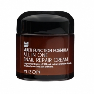 Mizon All In One Snail Repair Cream kortsuvastane näokreem 92% teolimaga 75ml
