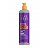 Tigi Serial Blonde Purple Toning Shampoo Violet šampoon blondidele juustele 400ml