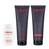 Placent Activ Milano juuksekasvu komplekt 3 toodet