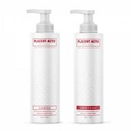 Placent Activ juuksekasvu komplekt 2 toodet šampoon+ palsam 1L