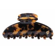 Evita Peroni Aija Juukseklamber Large Shark tortoiseshell