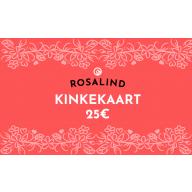 Rosalind e-poe kinkekaart 25 €