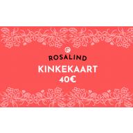Rosalind e-poe kinkekaart 40 €