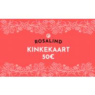 Rosalind e-poe kinkekaart 50 €